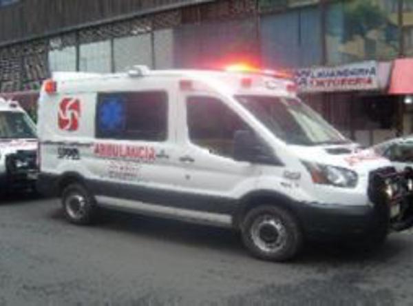 Ambulancia Ford Transit 2018