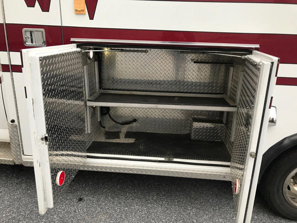2010 CHEVROLET 4500 AMBULANCE DIESEL 6.6L TYPE III LED
