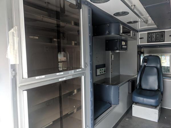 2011 GMC 4500 interior