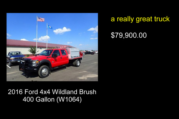 wildland brush truck