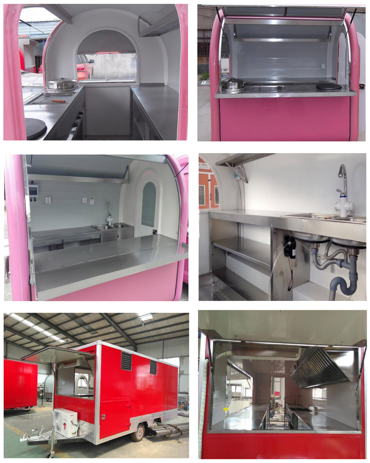 Food Trailers interior