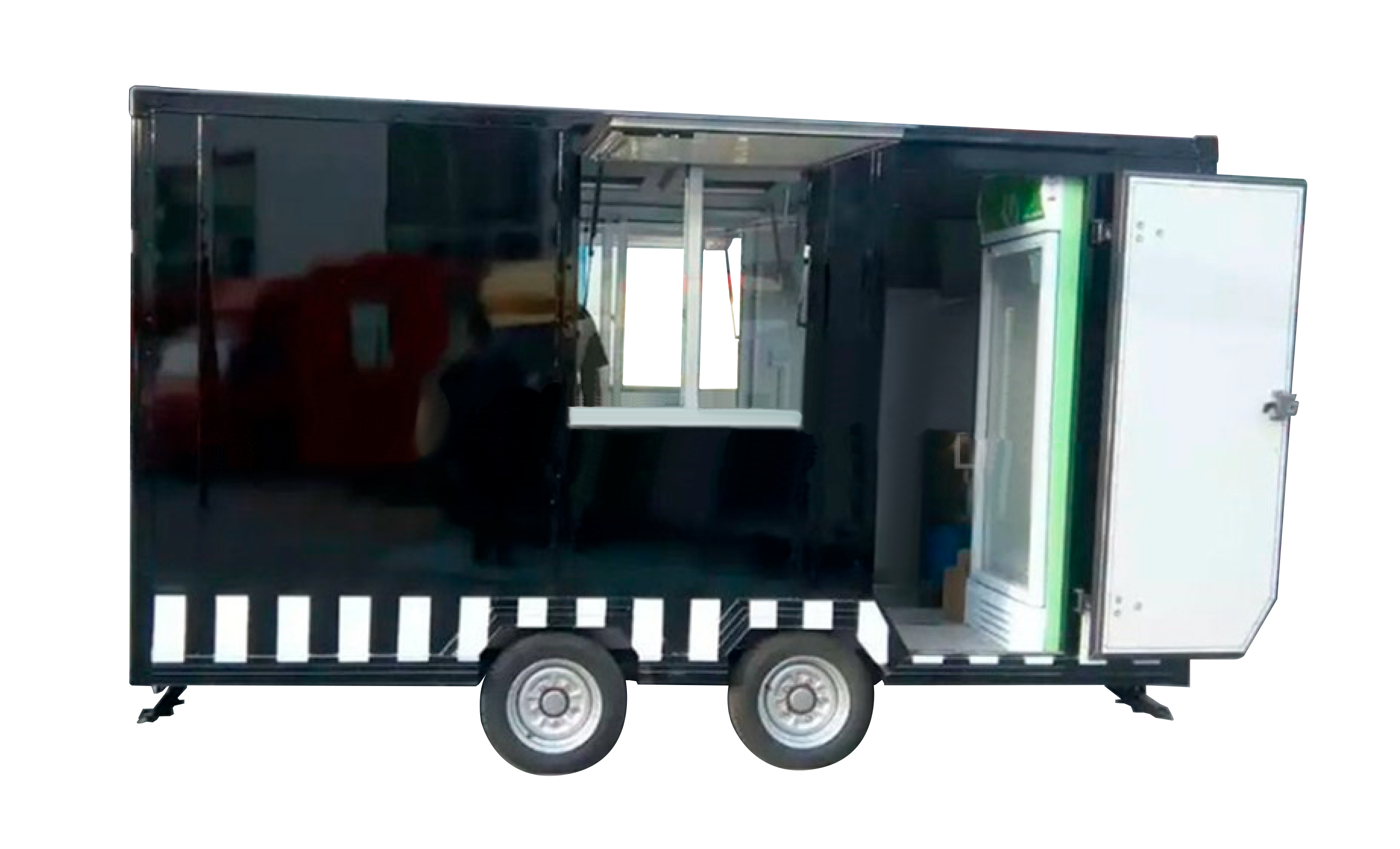 TRAILER DE COMIDA AL AIRE LIBRE | EUROPEO| MODELO MS-A3-35 side
