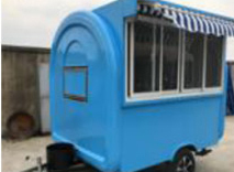 TN60 Food Trailer Cart
