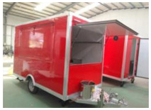 TN70 Mobile Outdoor Food Kiosk