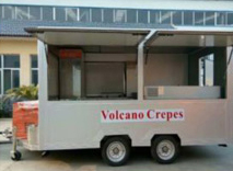 TN80 Mobile Outdoor Food Kiosk