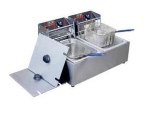 Double tank fryer machine