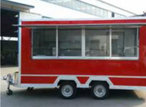 TN100 Mobile Outdoor Food Kiosk