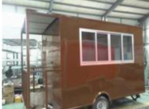 TN110 Mobile Outdoor Food Kiosk