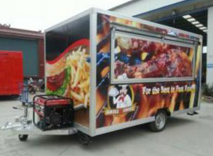 TN90 Mobile Outdoor Food Kiosk